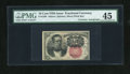 Fractional Currency:Fifth Issue, Fr. 1266 10c Fifth Issue with Morgan Courtesy Autograph PMG ChoiceExtremely Fine 45....