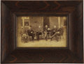 American Indian Art:Photographs, AGENT JAMES MCLAUGHLIN, CLERKS AND INTERPRETERS OF THE STANDINGROCK AGENCY, D.T.. c. 1882. ... (Total: 3 Items)