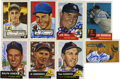 Autographs:Sports Cards, Baseball Stars Signed Reprint Cards Lot of 90. Collection of 90star cards from reprint issues of 1950s baseball trading ...