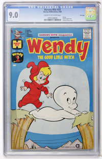Harvey Hits #33 Wendy the Good Little Witch - File Copy (Harvey, 1960) CGC VF/NM 9.0 Cream to off-white pages