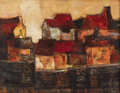 Texas:Early Texas Art - Modernists, CHESTER TONEY (American, 1935-1965). Sea Wall, 1957. Oil on linen. 26 x 34 inches (66.0 x 86.4 cm). Signed lower right: ...
