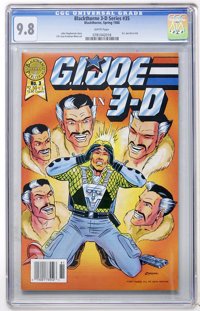Blackthorne 3-D Series #35 G. I. Joe in 3-D (Blackthorne Publishing, 1988) CGC NM/MT 9.8 White pages