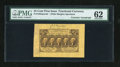 Fractional Currency:First Issue, Fr. 1282SP 25c First Issue Wide Margin Pair with Huston CourtesyAutograph PMG Uncirculated 62.... (Total: 2 notes)