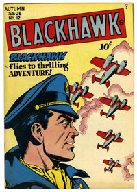Blackhawk #12 (Quality, 1946) Condition: FN
