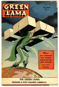 Golden Age (1938-1955):Science Fiction, Green Lama #6 (Spark Publications, 1945) Condition: VG....
