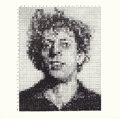Prints:Contemporary, CHUCK CLOSE (American, b. 1940). Phil, 1976 . Lithograph. 8x 8 inches (20.3 x 20.3 cm). Ed. 1000. Published: Parasol Pr...