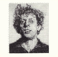 CHUCK CLOSE (American, b. 1940) Phil, 1976 Lithograph 8 x 8 inches (20.3 x 20.3 cm) Ed. 1000<