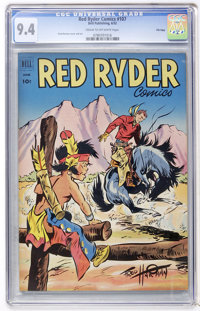 Red Ryder Comics #107 File Copy (Dell, 1952) CGC NM 9.4 Cream to off-white pages