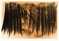 HANS HARTUNG (French, 1904-1989) Farandole #20 Color lithograph 19-3/8 x 29-3/8 inches (49.2 x 7