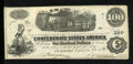 Confederate Notes:1862 Issues, T40 $100 1862. CC.. ...