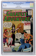 Golden Age (1938-1955):Horror, My Greatest Adventure #8 (DC, 1956) CGC VF+ 8.5 Off-white pages....