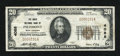 National Bank Notes:West Virginia, Piedmont, WV - $20 1929 Ty. 1 The Davis NB Ch. # 4088. ...