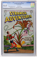 Golden Age (1938-1955):Science Fiction, Strange Adventures #44 (DC, 1954) CGC VF 8.0 Off-white pages....