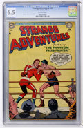 Golden Age (1938-1955):Science Fiction, Strange Adventures #43 (DC, 1954) CGC FN+ 6.5 Off-white pages....