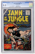 Silver Age (1956-1969):Adventure, Jann of the Jungle #11 (Atlas, 1956) CGC VF 8.0 Off-white pages....