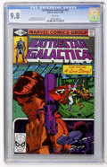 Modern Age (1980-Present):Science Fiction, Battlestar Galactica #22 (Marvel, 1980) CGC NM/MT 9.8 Whitepages....