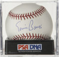 Autographs:Baseballs, Ernie Banks Single Signed Baseball PSA Gem Mint 10. A betterexample of a single from Mr. Cub himself Ernie Banks can scarc...