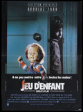 """Movie Posters:Horror, Child's Play (United Artists, 1988). Belgian (15"""" X 20.5""""). Horror...."""