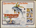 "Movie Posters:Adventure, Flipper's New Adventure (MGM, 1964). Half Sheet (22"" X 28"") andLobby Cards (4). Adventure.... (Total: 5 Items)"