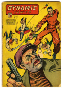 Dynamic Comics #14 (Chesler, 1945) Condition: GD-