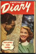 Golden Age (1938-1955):Romance, Sweetheart Diary #7 and 8 Bound Volume (Fawcett, 1951)....