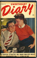 Golden Age (1938-1955):Romance, Sweetheart Diary #9 and 10 Bound Volume (Fawcett, 1952)....