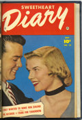 Golden Age (1938-1955):Romance, Sweetheart Diary #11-13 Bound Volume (Fawcett, 1952)....