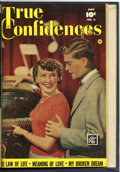 Golden Age (1938-1955):Romance, True Confidences #3 and 4 Bound Volume (Fawcett, 1950)....