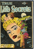 Golden Age (1938-1955):Romance, True Life Secrets #14 and 15 Bound Volume (Romantic LoveStories/Charlton, 1953)....