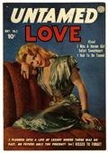 Golden Age (1938-1955):Romance, Untamed Love #3 (Quality, 1950) Condition: FN+....