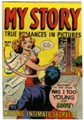 Golden Age (1938-1955):Romance, My Story #5 (Fox Features Syndicate, 1949) Condition: FN....