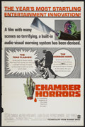 """Movie Posters:Horror, Chamber of Horrors (Warner Brothers, 1966). One Sheet (27"""" X 41""""). Horror...."""