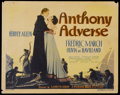 "Movie Posters:Adventure, Anthony Adverse (Warner Brothers, 1936). Title Lobby Card (11"" X14""). Adventure...."