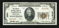 National Bank Notes:Pennsylvania, Tarentum, PA - $20 1929 Ty. 2 The Peoples NB Ch. # 5351. ...
