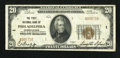 National Bank Notes:Pennsylvania, Philadelphia, PA - $20 1929 Ty. 2 The First NB Ch. # 1. ...