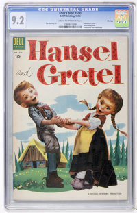 Four Color #590 Hansel and Gretel - File Copy (Dell, 1954) CGC NM- 9.2 Cream to off-white pages