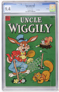 Golden Age (1938-1955):Funny Animal, Four Color #543 Uncle Wiggily File Copy (Dell, 1954) CGC NM 9.4Off-white pages....