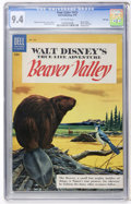 Golden Age (1938-1955):Miscellaneous, Four Color #625 Beaver Valley File Copy (Dell, 1955) CGC NM 9.4 Off-white pages....