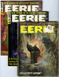 Magazines:Horror, Eerie Group (Warren, 1965-82) Condition: Average VG.... (Total: 34Comic Books)