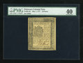 Colonial Notes:Delaware, Delaware May 1, 1777 18d PMG Extremely Fine 40....