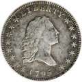 Early Half Dollars, 1795 50C Small Head--Corroded, Improperly Cleaned--NCS. VFDetails....