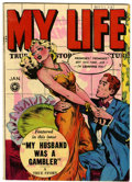 Golden Age (1938-1955):Romance, My Life #6 Double Cover (Fox Features Syndicate, 1949) Condition:VF....