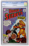 Silver Age (1956-1969):Mystery, House of Secrets #55 (DC, 1962) CGC NM- 9.2 Off-white to whitepages....