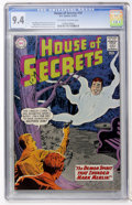 Silver Age (1956-1969):Mystery, House of Secrets #59 (DC, 1963) CGC NM 9.4 Off-white to whitepages....