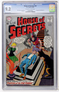 Silver Age (1956-1969):Mystery, House of Secrets #60 (DC, 1963) CGC NM- 9.2 Off-white to whitepages....