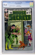 Bronze Age (1970-1979):Horror, House of Secrets #85 (DC, 1970) CGC NM+ 9.6 Off-white to whitepages....