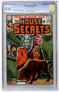 Bronze Age (1970-1979):Horror, House of Secrets #87 (DC, 1970) CGC NM 9.4 Off-white to whitepages....