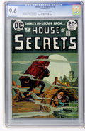 Bronze Age (1970-1979):Horror, House of Secrets #113 (DC, 1973) CGC NM+ 9.6 Off-white to whitepages....