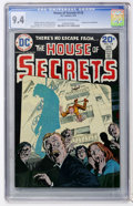 Bronze Age (1970-1979):Horror, House of Secrets #118 (DC, 1974) CGC NM 9.4 Off-white to whitepages....