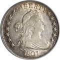 Early Half Dollars, 1807 50C Draped Bust AU53 PCGS....